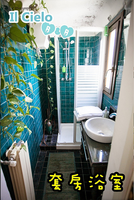 Florence Il Cielo B&B room1 bath