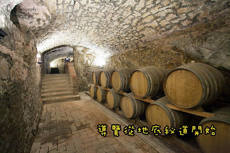wine tunnel
