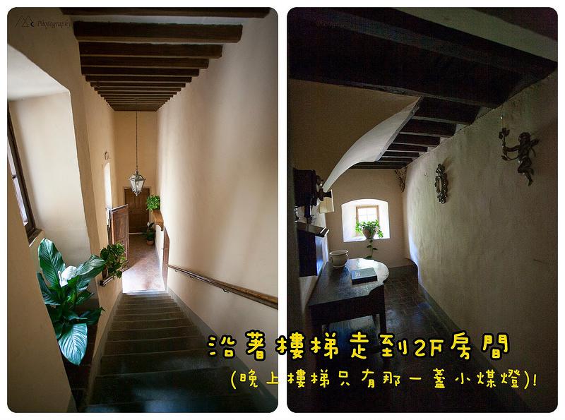 Meleto stairs