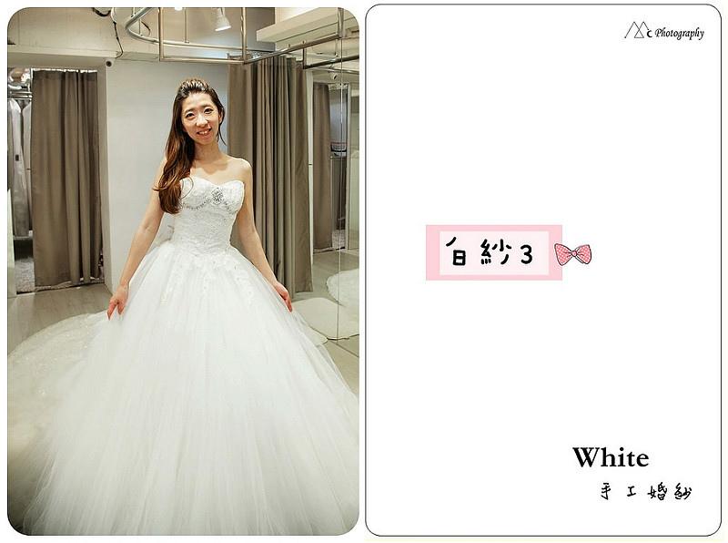 WHITE  白紗3-1