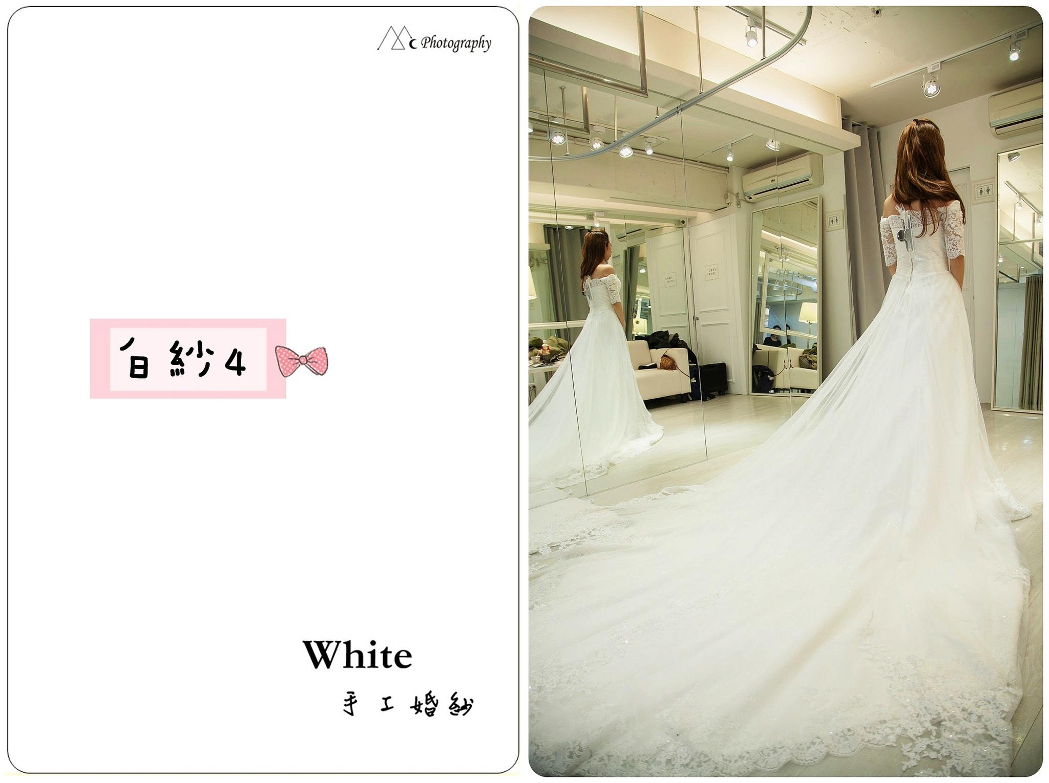 WHITE  白紗4-2