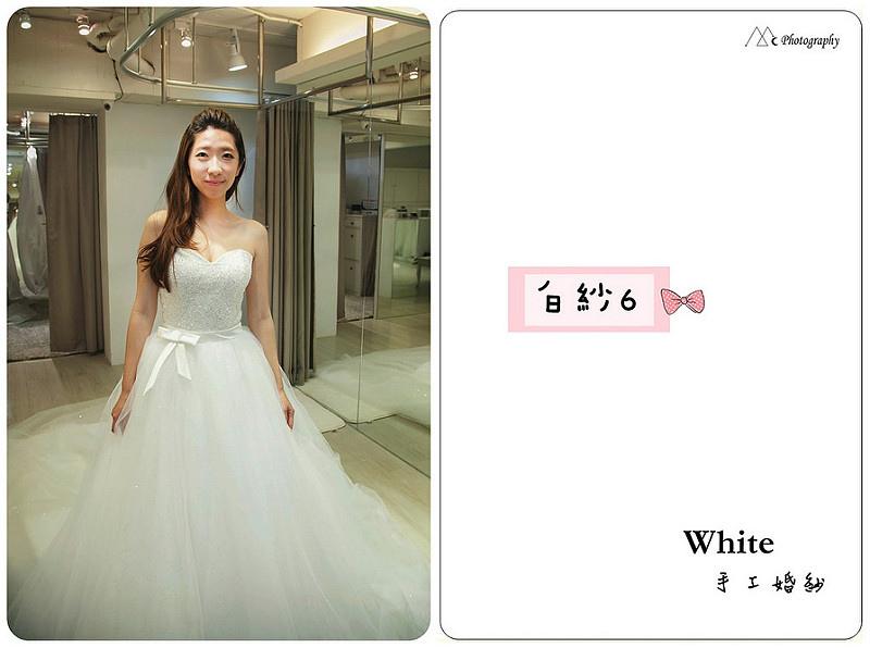 WHITE  白紗6-1