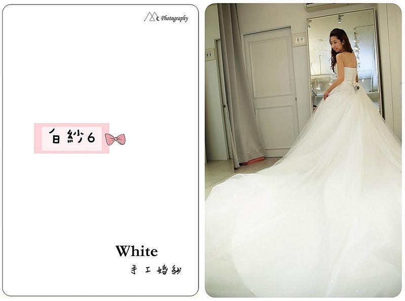 WHITE  白紗6-2