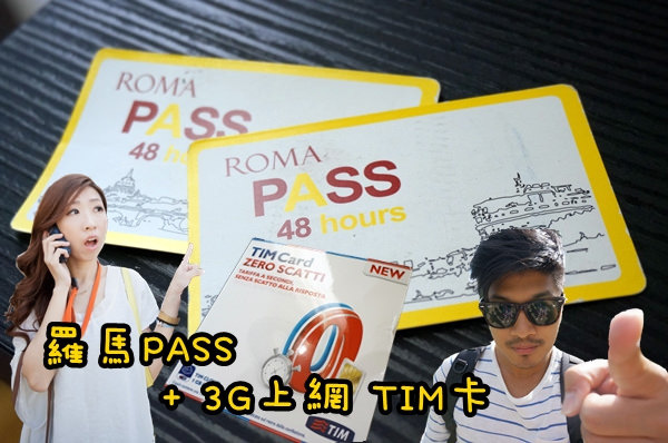 roma pass TIM card