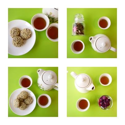 手工小餅乾搭配茶總是會讓下午茶時間令人期待