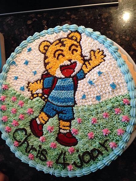 Chris 4歲生日趴