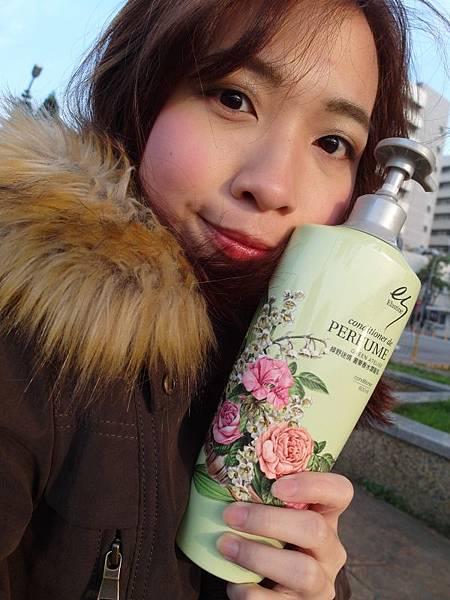 elastine 綠野迷情 奢華香水洗髮精 (8).JPG