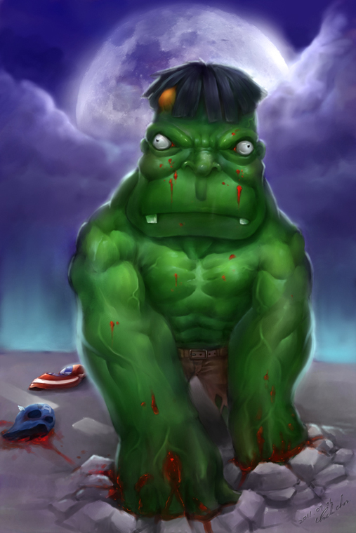 綠巨人浩呆