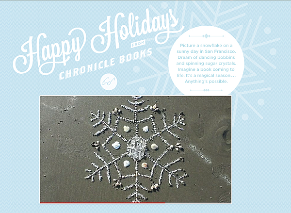 Happy Holidays FROM CHRONICLE BOOKS.png