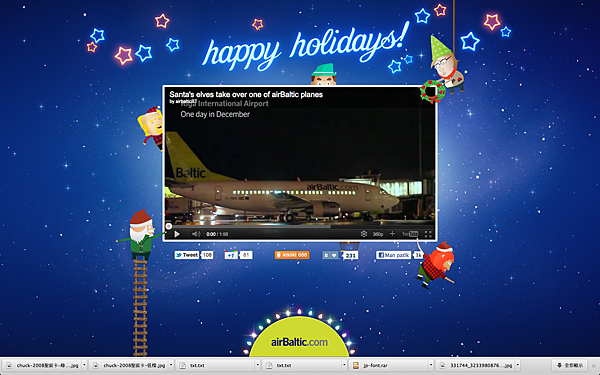 Santa's elves take over one of airBaltic planes(happyholidays airbaltic).png