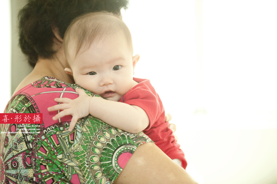 阿嬤的懷抱是宇宙最強大的避風港!