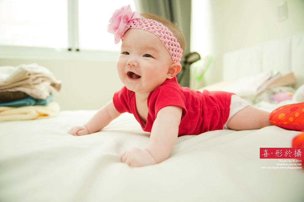 當爸媽的看到小寶貝開懷的笑 多苦都願意了