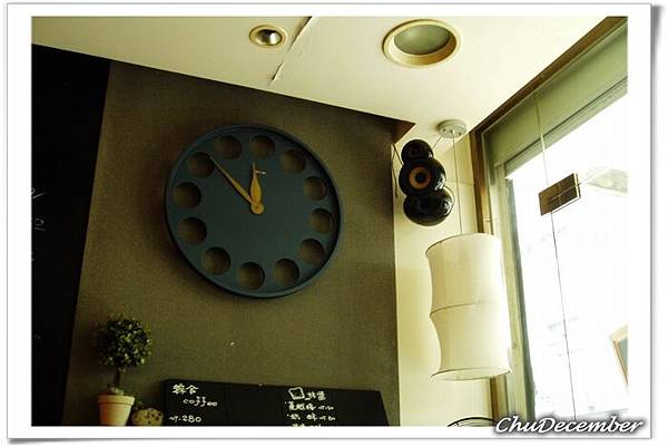店內的大時鐘