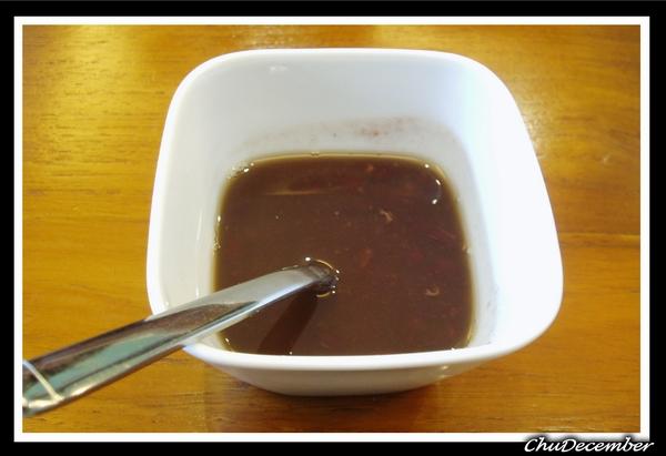飯後甜點--紅豆湯