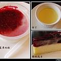 莓果奶酪、布丁、櫻桃乳酪蛋糕