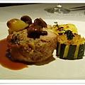 主菜--蕈菇雞肉塔?