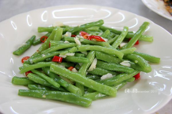 鮮嫩四季豆