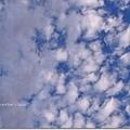 今天的天空也很給面子
