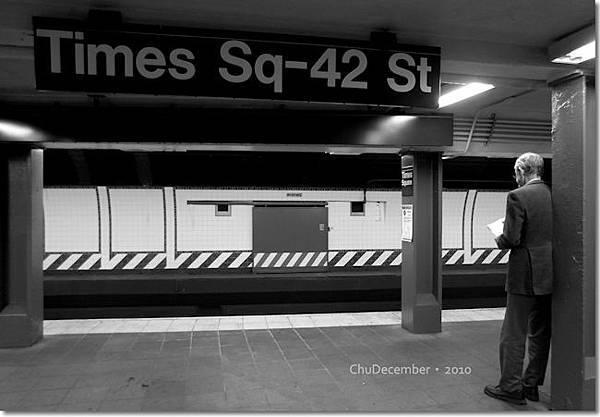 這4天不知來來去去幾次的Time Sq車站