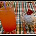 蕃茄檸檬汁與芝麻鮮奶冰淇淋