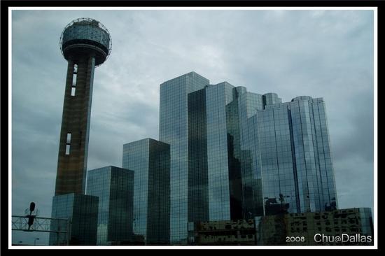 Reunion Tower&Hyatt Regency Hotel