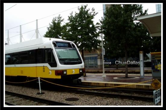 Dallas的電車--DART