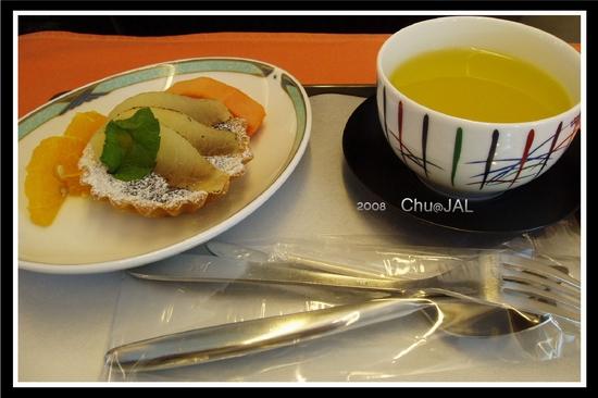 去程 JAL 甜點