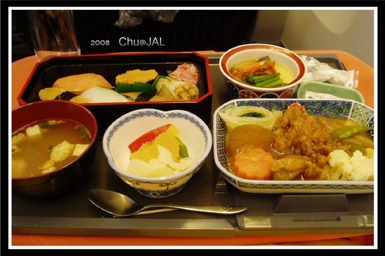 去程 JAL 餐點