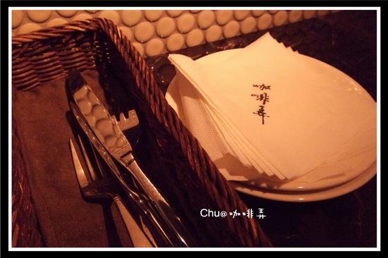 連餐巾紙都有logo