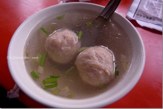 湯像水的貢丸湯