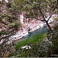 有一區溪水顏色很美