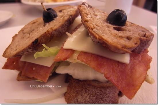 美味又實在的三明治