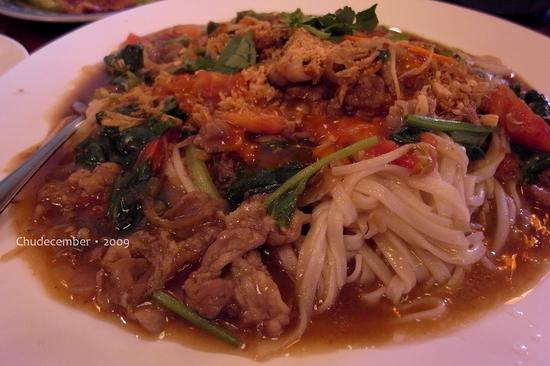 香椰沙嗲豬肉河粉