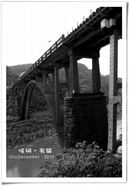 經過整修的運煤橋