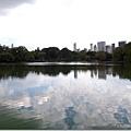 湖中的藍天