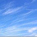 飄飄然的雲