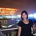 從印度館可以清楚看到中國館