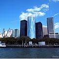 搭上船回到曼哈頓~開始市區漫步...