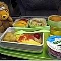 長榮的飛機餐果然比起來真的是好吃的