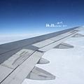搭飛機最快樂的是就是有藍天~^^