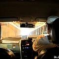 搭上Taxi往旅遊塔去