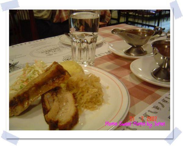 Euro deli - pork ribs