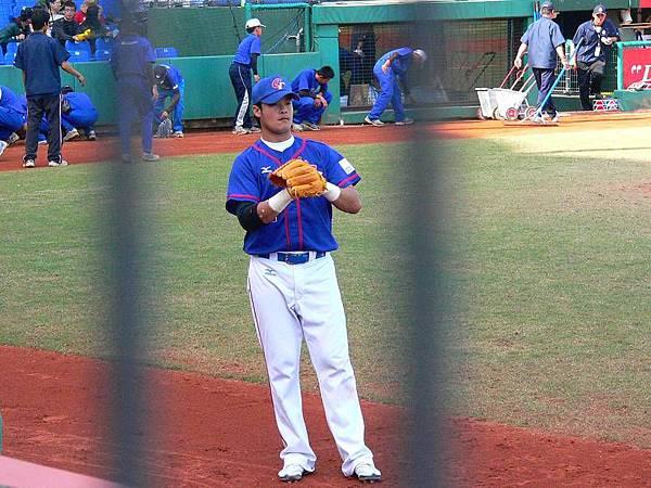 林智勝賽前練習