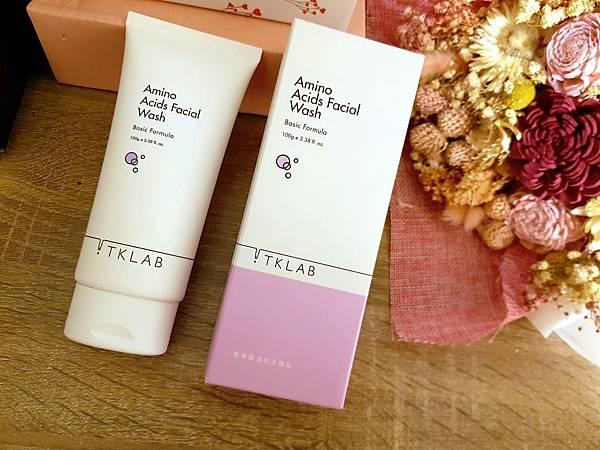 【保養】TKLAB 氨基酸溫和潔顏霜 | 洗掉髒汙,還給肌膚一個潔淨清爽,大力推薦的溫和洗面乳