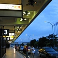 清晨5點的機場