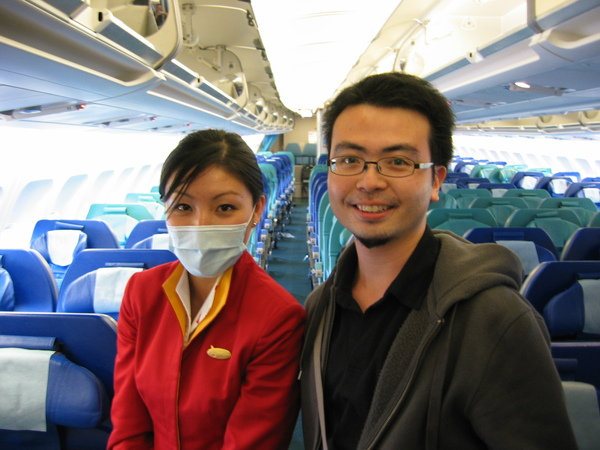 CX257親切可愛的國泰空姐