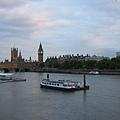Thames river, Big Ben, Houses of Parliament