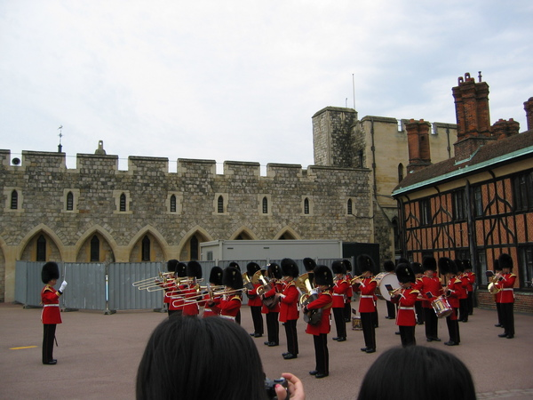 Windsor castle衛兵交接