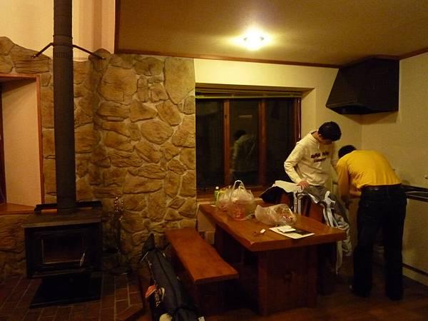 小木屋1F的客廳