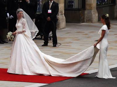 凱特米德爾頓的婚紗